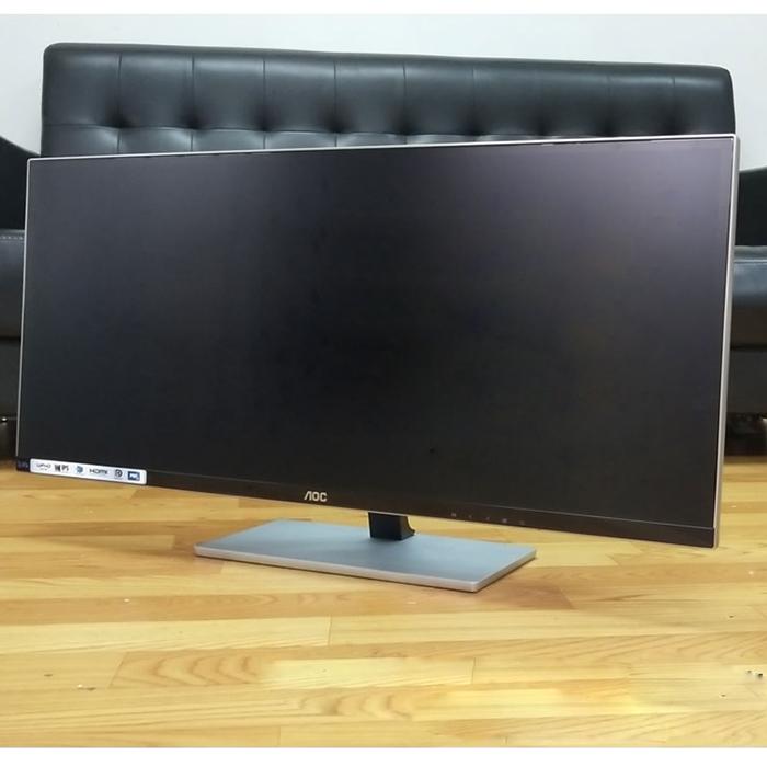 AOC32寸 27显示器IPS屏 液晶2K 非144hz 曲面24 台式电脑二手屏幕