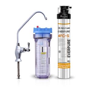 美国everpure爱惠浦4FCS厨下直饮过滤器净水器直饮水龙头家用饮水