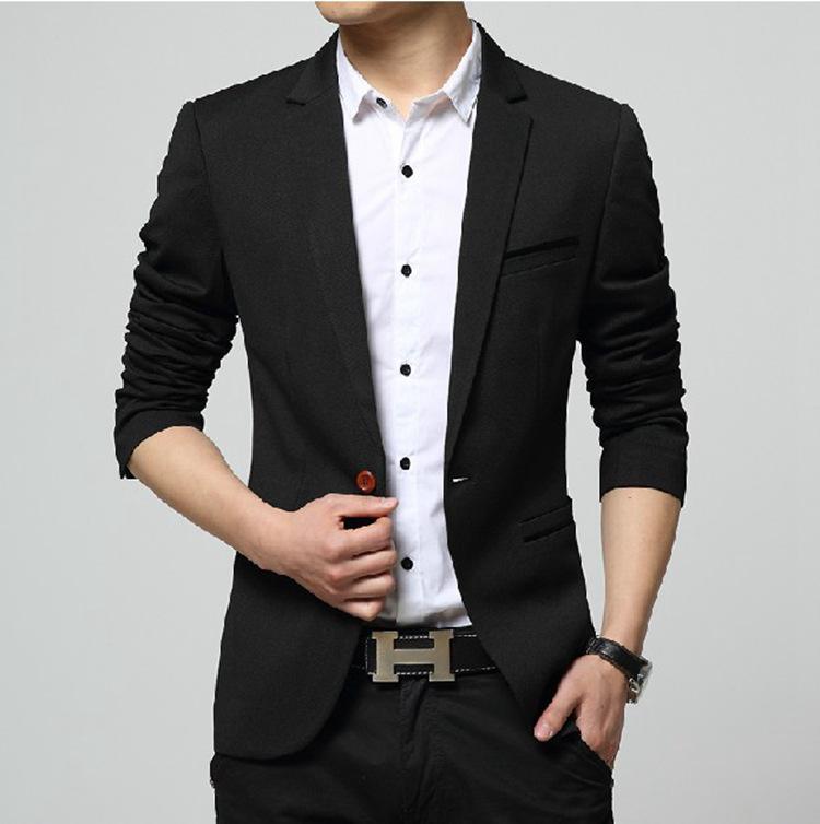 春秋季新款小西装男士韩版修身西服男版青年大码外套商务潮流男装