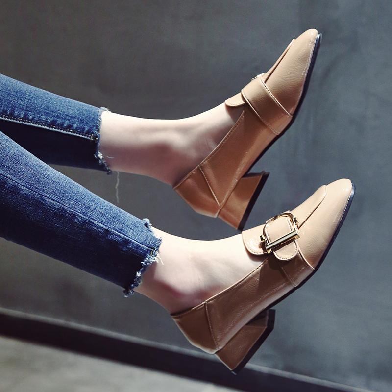 小低跟女鞋