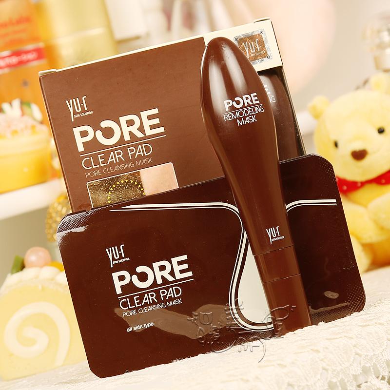 韩国正品Yu.r鼻膜鼻贴巧克力棒 PORE清洁毛孔 撕拉去黑头收缩毛孔