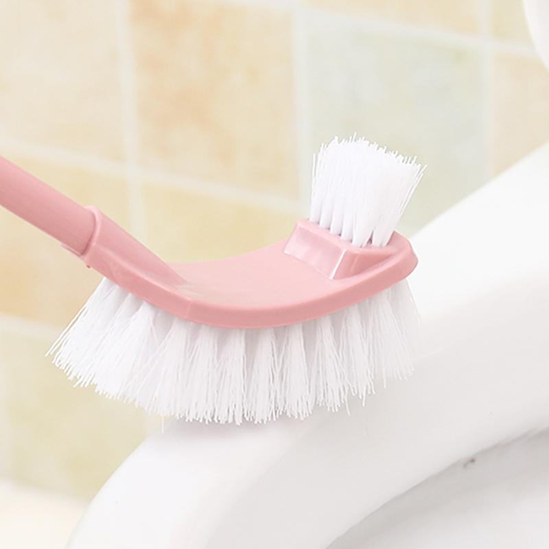 家用卫生间清洁刷长柄洗厕所的刷子洁厕刷创意马桶刷套装无死角