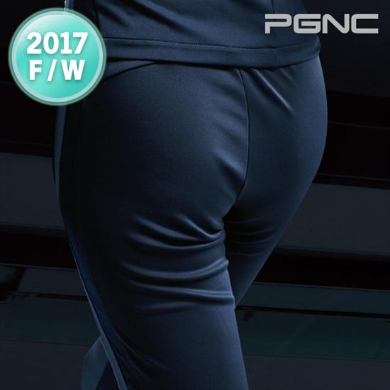 2017秋冬新品PGNC韩国PEGGY佩吉酷女子羽毛球服速干运动长裤正品f