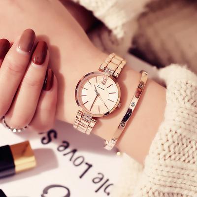 金米欧Kimio简约时尚大方女士链条防水石英手表配饰学生腕表礼物最新最全资讯