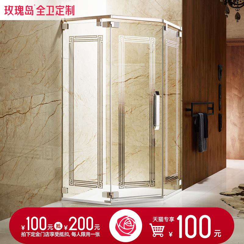 玫瑰岛淋浴房整体