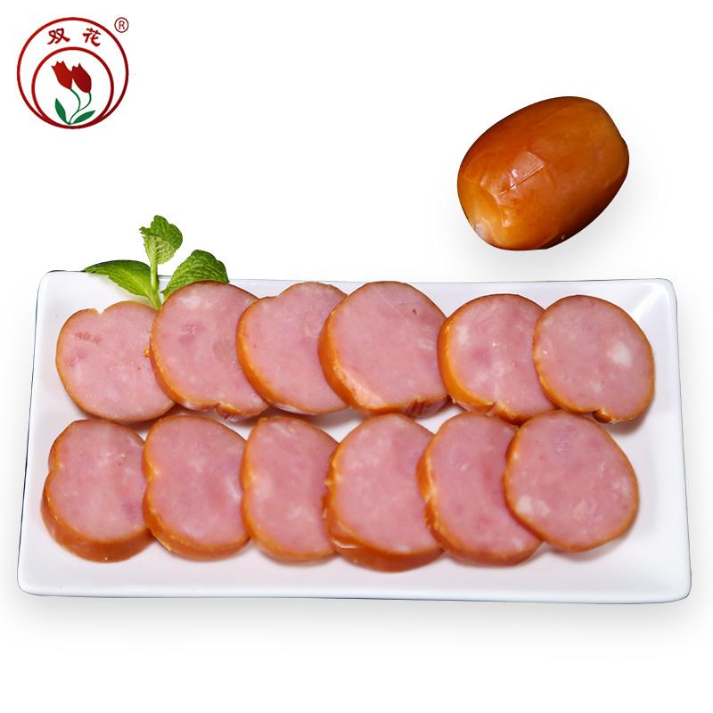 双花肉枣香肠 工厂直发 东北特产风味肉枣肠猪肉香肠零食70g*5支