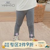休闲铅笔裤 年龄 英氏女童打底裤 运动裤 10792270