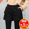 冬季韩版加厚短裤