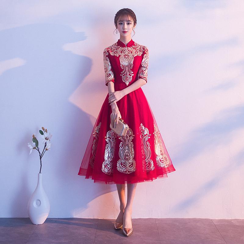 逸红妆YHZLF8646旗袍