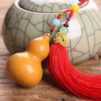 特色手工饰品挂件手捻葫芦把件文玩葫芦车挂包包挂饰钥匙扣老葫芦