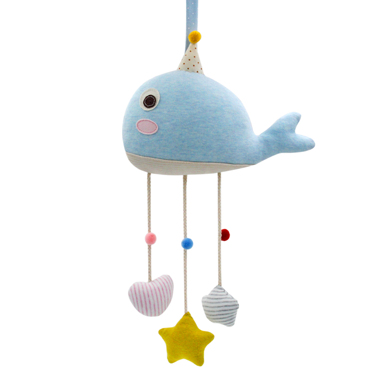 新生儿婴儿床铃 布艺床挂玩具车挂宝宝玩偶孕妇diy手工制作材料包