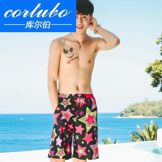 夏季纯棉沙滩裤
