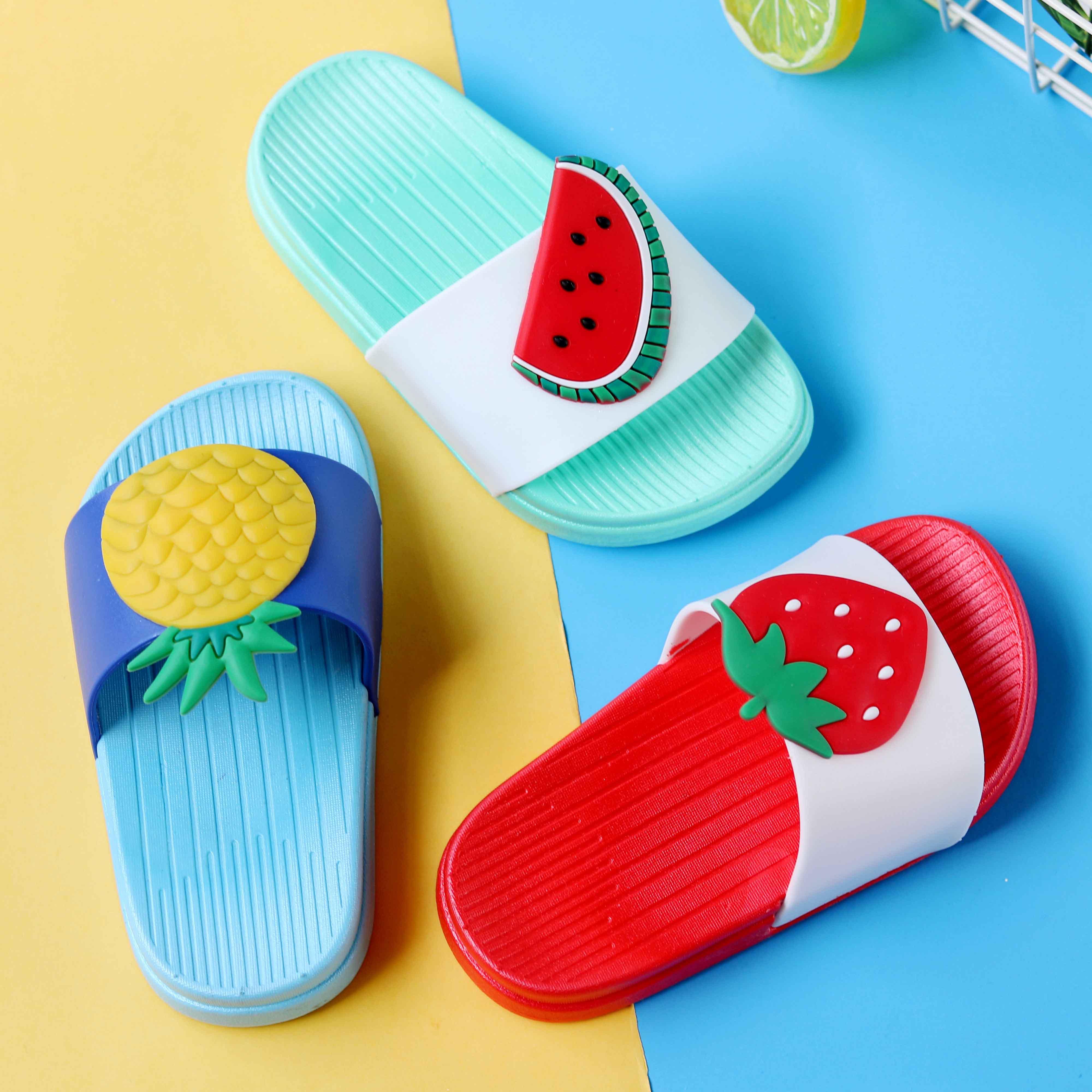 女童小孩夏季中大童室内防滑儿童拖鞋