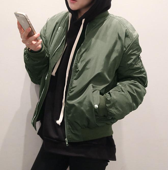 现货naning9 韩国韩版时尚个性短款夹克短外套女