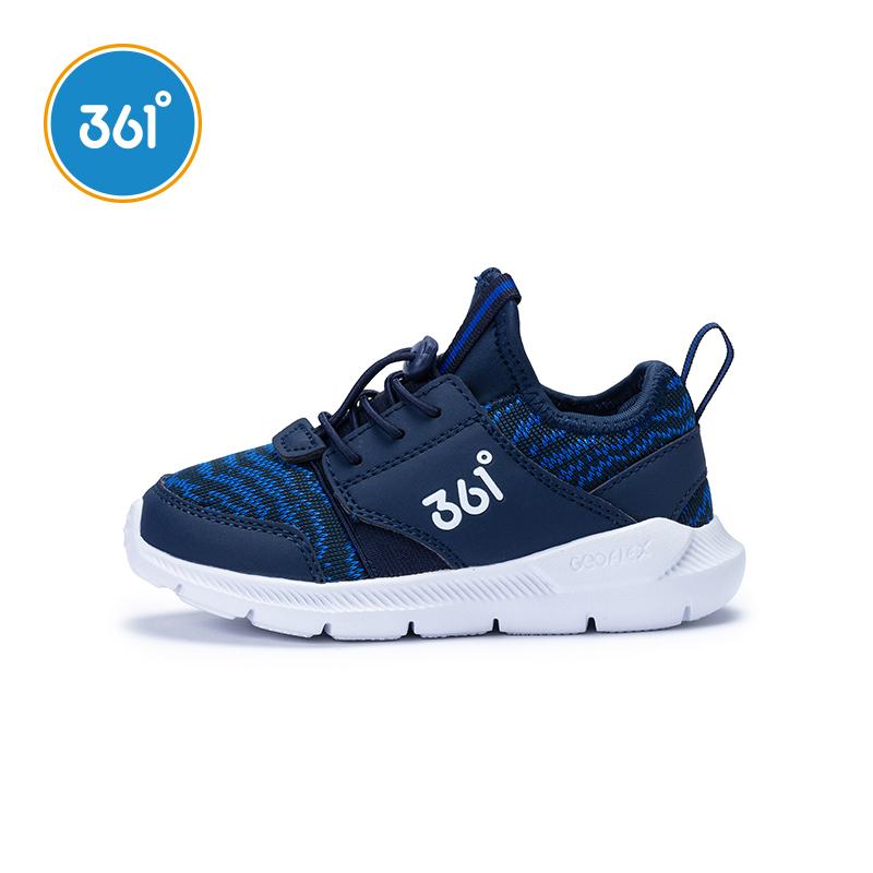 361兒童運動鞋男童鞋小童跑步鞋透氣一腳蹬春秋2019新款K71914532