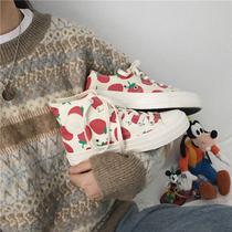 春秋季显瘦尖头浅口单鞋女皮鞋高跟鞋红色婚鞋坡跟大码女鞋潮2018
