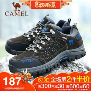骆驼户外登山鞋男秋冬季休闲运动鞋透气保暖防水防滑耐磨徒步鞋女