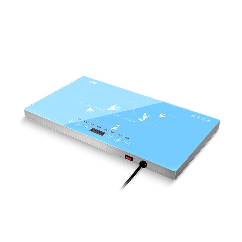 智能电加热桌面转盘餐桌保温饭桌暖菜宝多功能圆形电热恒温桌子