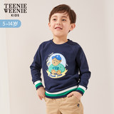 TeenieWeenieKids bear 2019 spring and autumn new product big children's clothing tide boy sweater TKMW91204B
