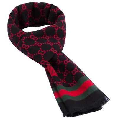 女士围巾秋冬百搭韩版保暖春秋薄款红色黑色中老年人围巾女妈妈款
