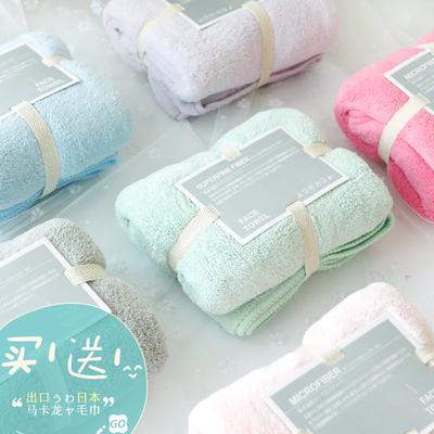 出口日本毛巾成人家用超强吸水速干运动情侣擦头发干发巾美容院