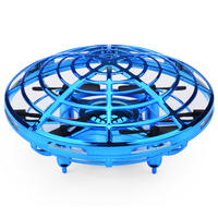 Ufo mini drone small intelligent induction four-axis aircraft boy resistant to fall children's suspension toy