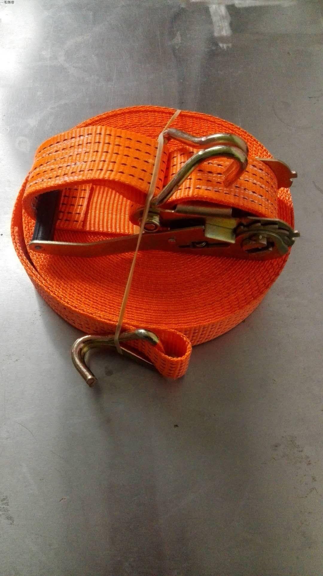 货车绑带 货物固定带 紧绳器 收紧器 钩子 吊带 打包带 拴紧 加厚