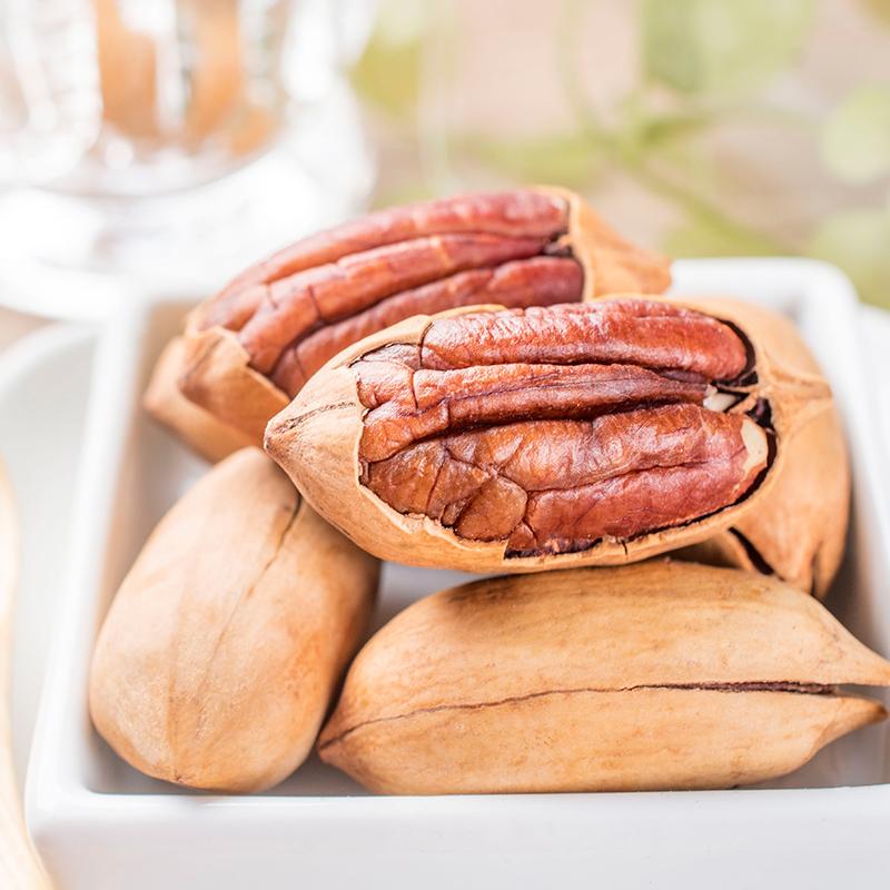 新货散装碧根果奶油味500g 袋装1斤 长寿果 碧根果仁孕妇零食坚果