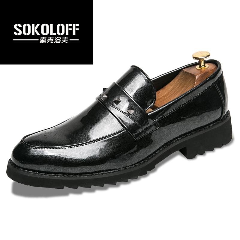 黑色高跟休闲鞋