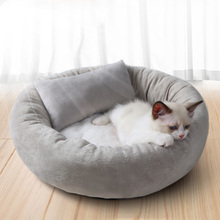 网红猫窝夏季猫床加绒猫垫睡觉睡垫别墅猫咪用品宠物狗窝四季通用