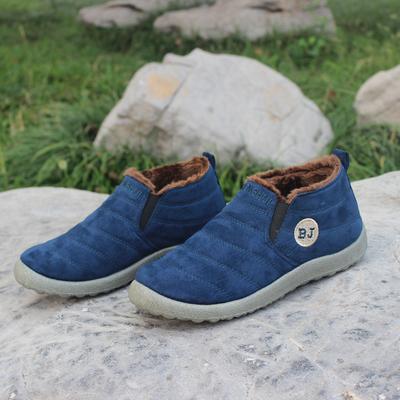 老北京布鞋男款棉鞋冬季加绒加厚保暖男士中老年人休闲防滑爸爸鞋