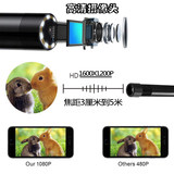 5 million HD WiFi endoscopic surveillance cameras underwater Andrews Apple USB probe pipeline automotive industry