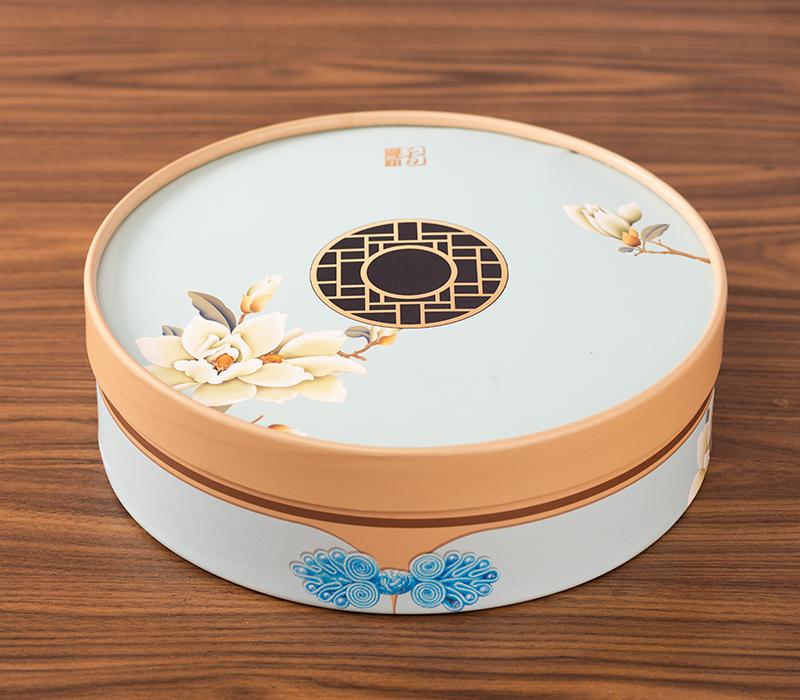 七星伴月月饼盒月饼包装盒8粒高档中秋礼品盒天地盖广式月饼盒手