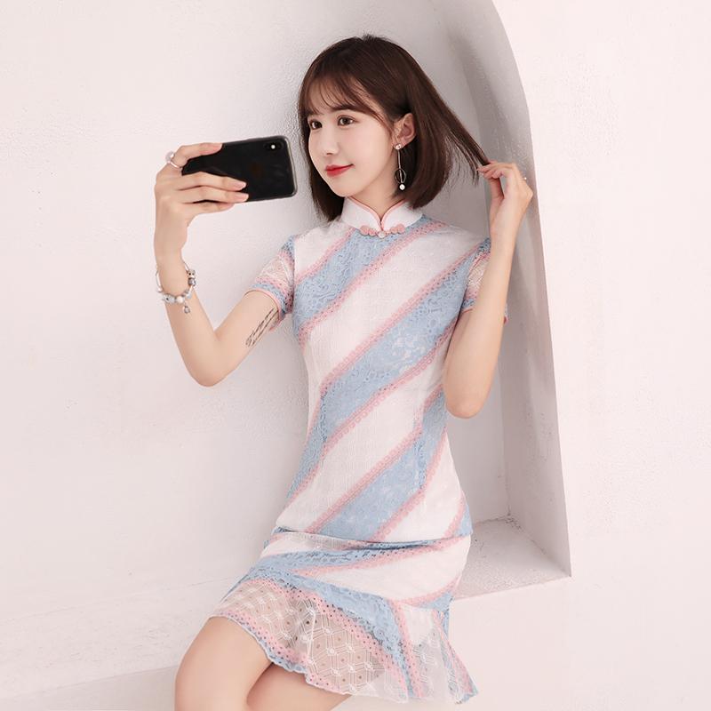 楼兰蝶LLD029旗袍