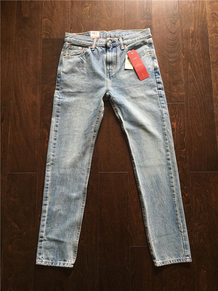 美国专柜采购 Levi's 510-0793 李维斯浅蓝色男士修身小脚牛仔裤,levi's李维斯牛仔裤