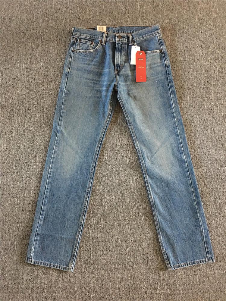 美国官网海淘现货Levi's 505-1598 李维斯中腰男士直筒宽松牛仔裤,levi's李维斯牛仔裤