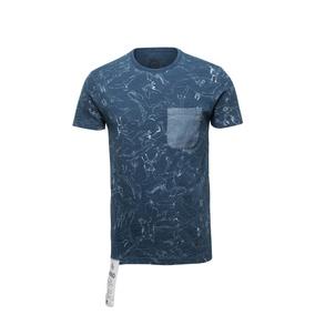 Lee男装 夏季新款棉质运动休闲时尚百搭短袖T恤上衣 L14147Q38T98