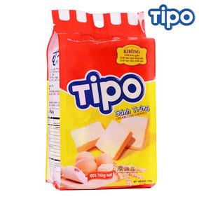 三包包邮越南进口丰灵tipo面包干鸡蛋牛奶味115g酥性饼干休闲零食