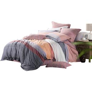 孚日家纺 全棉加厚磨毛四件套1.5米1.8m床上用品纯棉床单被套田园