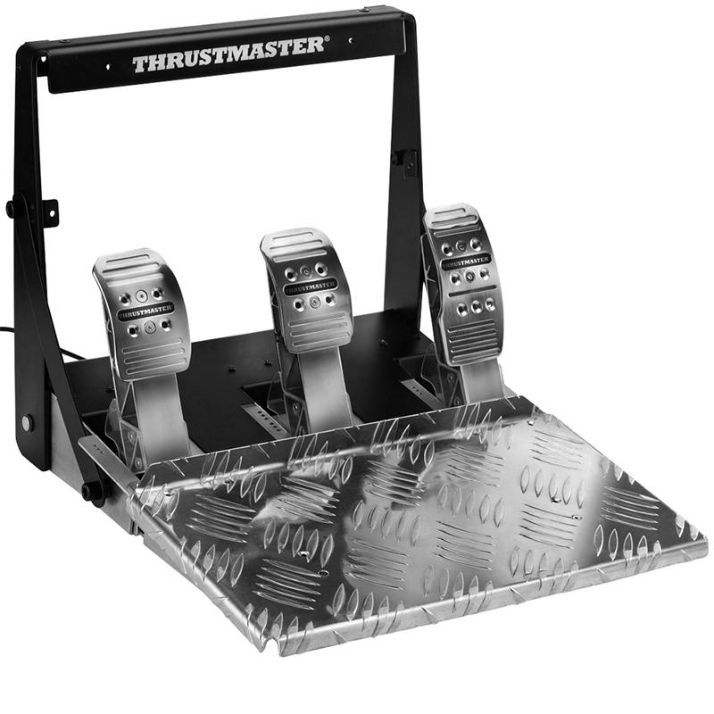 thrustmaster图马思特T3PA PRO赛车游戏刹车油门离合器脚踏板手动
