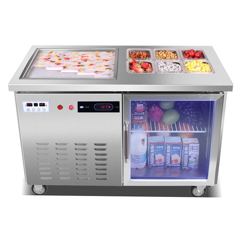 扬瀚玛炉品炒冰机炒酸奶机商用智能冷藏炒冰淇淋卷机炒奶果冰粥机