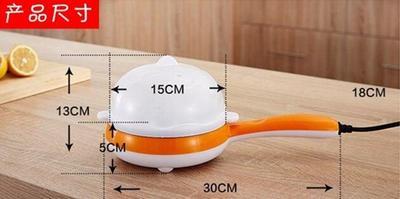 电煎蛋器机迷你家用电器寝室电热生活可爱司机大号自动