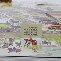 Shaanxi History Museum Fun Tang Dynasty Children's Atlas Book Children's Reading Picture Book Puzzle Early Learning Reading Book