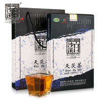 Baishaxi handmade Jinhua Tianzhu tea 1kg First-class material Tianjian Anhua Fu brick authentic Hunan Anhua black tea