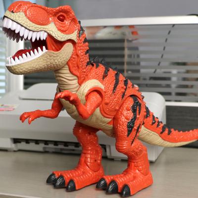 恐龙玩具儿童电动仿真动物模型遥控霸王龙超大号走路男孩玩具礼物