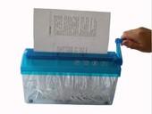 手动碎纸机A4手摇碎纸机快递单大号手动碎纸器账单纸张粉碎器