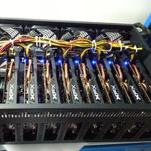 挖矿电脑八卡直插RX4704G讯景铭盈通专业挖矿矿机主机