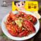 【周黑鸭旗舰店】聚一虾卤小龙虾260g*2盒 蔬菜味 鲜活卤制熟食