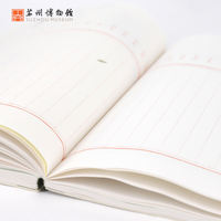 Suzhou Museum handbook bookkeeping book ancient style schedule book Meijing Bookstore small fresh student hand book