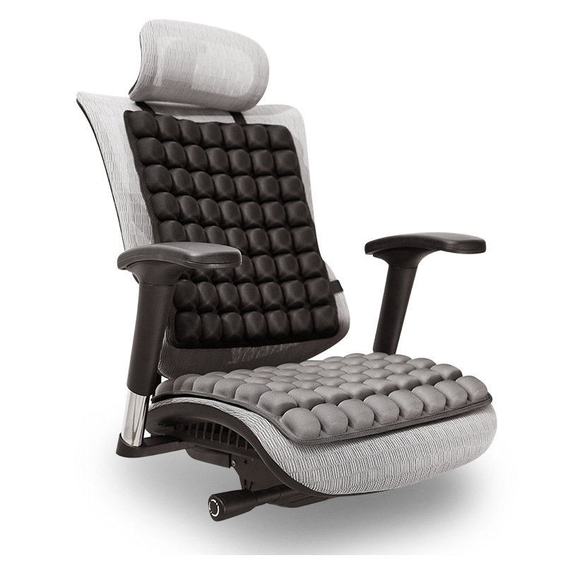 INNERNEED气囊坐垫靠背垫 3D立体气囊放松减压办公室车用座椅垫
